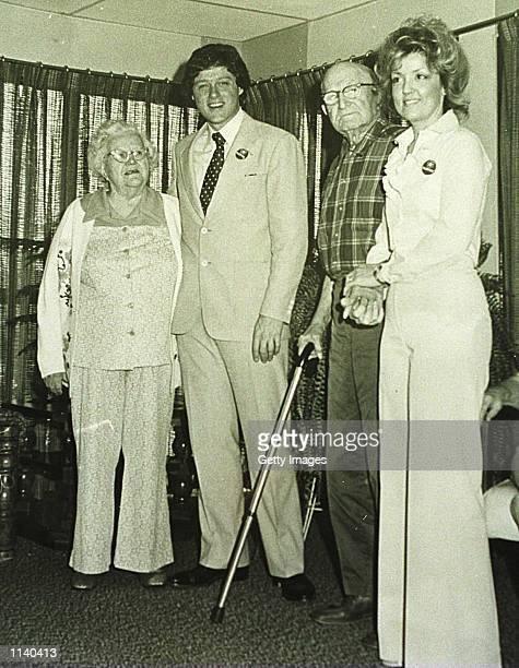 1978 Van Buren Arkansas Bill Clinton on a visit to Juanita Broaddrick's nursing home