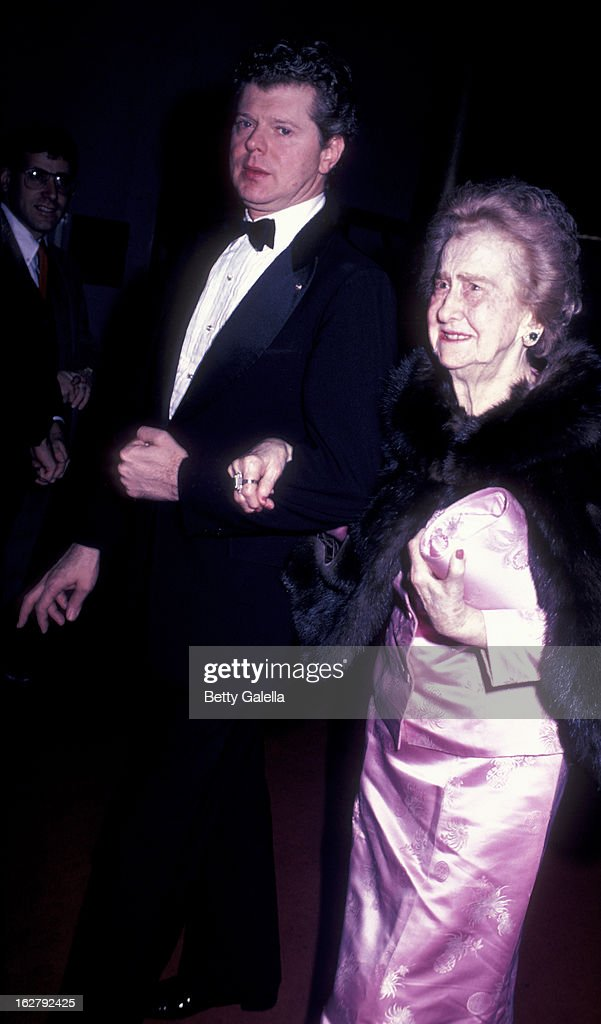 Van Cliburn attends Kennedy Center Honors Reception on December 4 1982 at the US Department of State in Washington DC