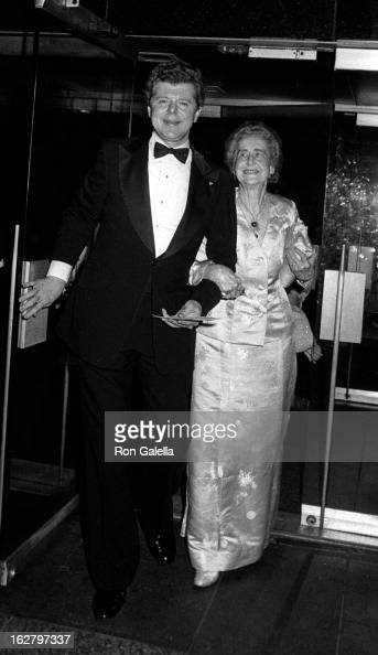 Van Cliburn attends Kennedy Center Honors Reception on December 4 1982 at the Department of State in Washington DC