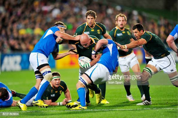 CJ Van Der Linde Afrique du Sud / Namibie Coupe du Monde de Rugby 2011
