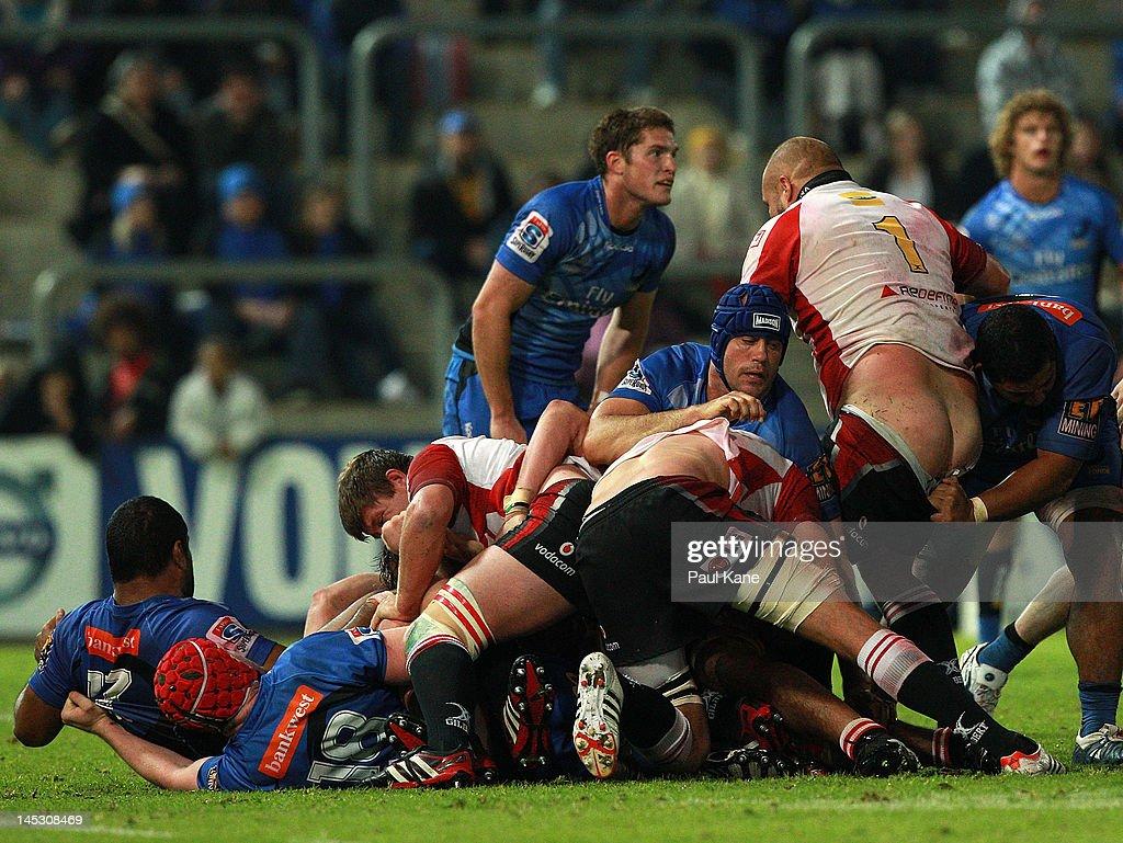 Super Rugby Rd 14 - Force v Lions