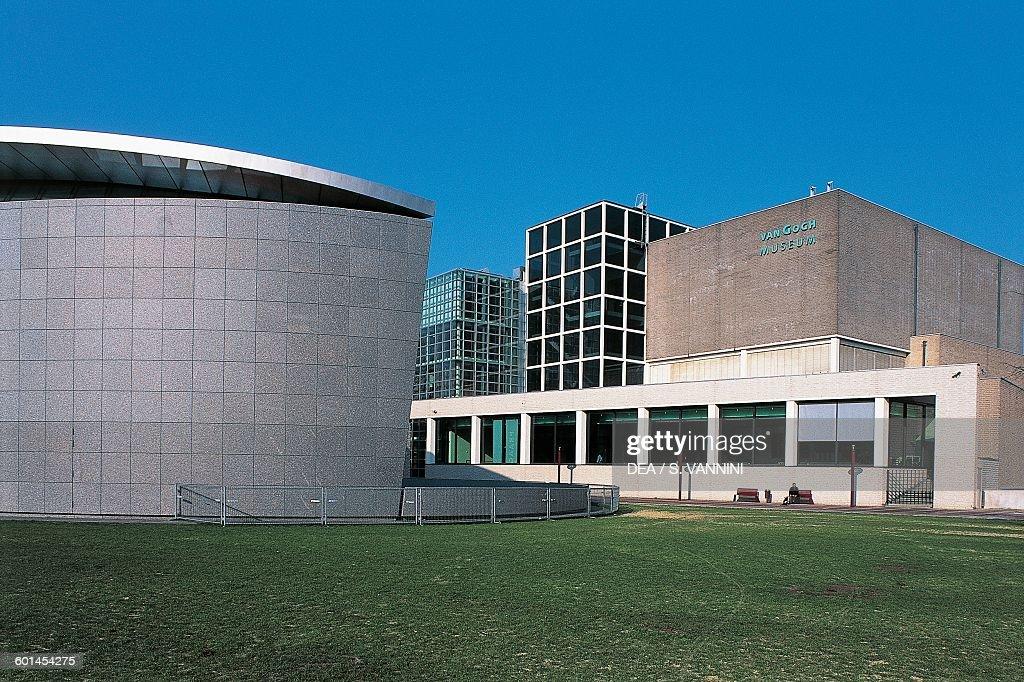 Van Gogh Museum Museumplein Amsterdam Netherlands