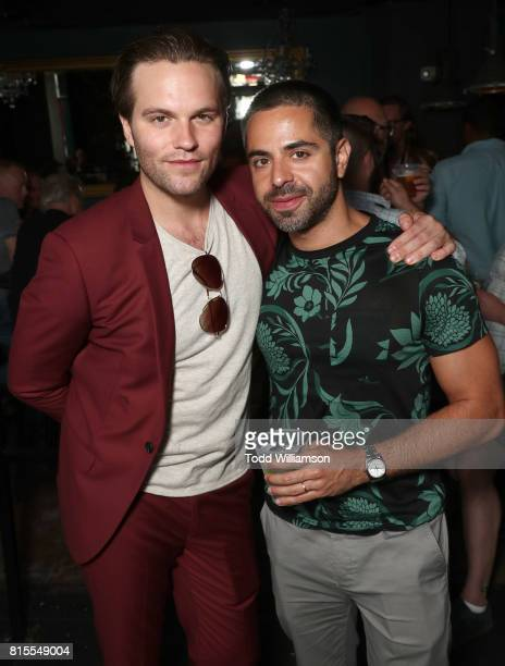 Van Hansis and Satya Bhabha attend the 'EastSiders' Premiere And After Party At Outfest on July 15 2017 in Los Angeles California