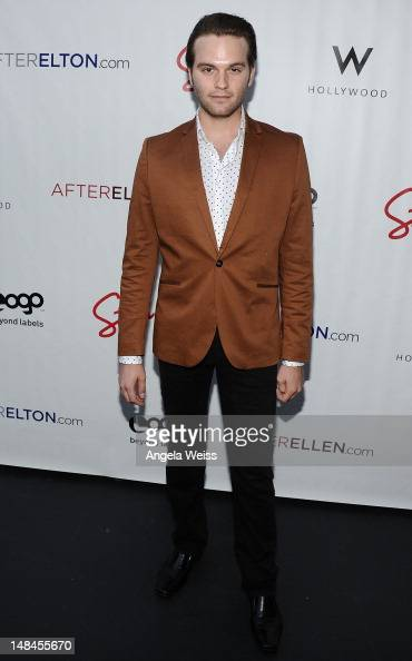 Van Hansis attends Logo's AfterEllen AfterElton Inaugural 'Hot 100 Party' at Station Hollywood at W Hollywood Hotel on July 16 2012 in Hollywood...