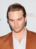 Van Hansis attends the Logo's AfterEllen AfterElton Inaugural 'Hot 100 Party' held at Station Hollywood at W Hollywood Hotel on July 16 2012 in...