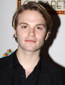 Van Hansis poses at the 'True Colors Cabaret' presented by True Colors Tour Broadway Impact and True Colors Fund at Feinstein's at the Regency on...