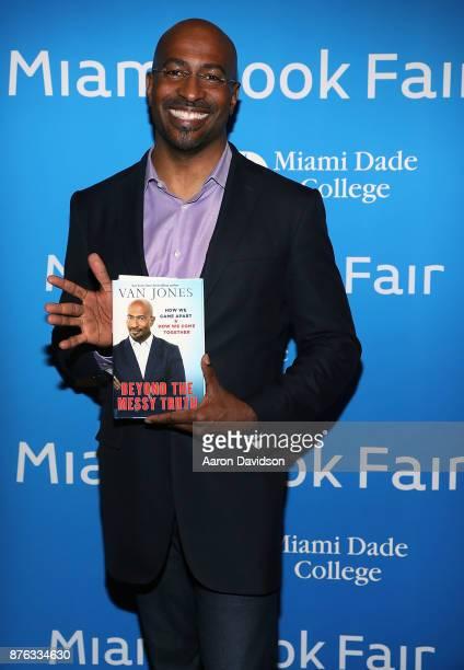 Van Jones attends 2017 Miami Book Fair on November 19 2017 in Miami Florida
