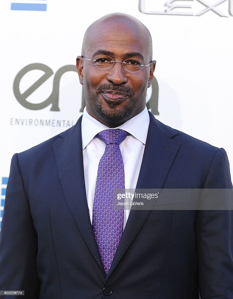 Van Jones attends the 26th annual EMA Awards at Warner Bros. Studios on October 22, 2016 in Burbank, California.