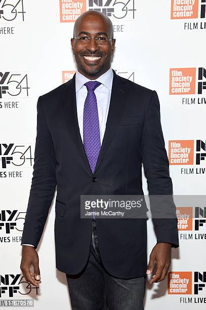 Van Jones attends the 54th New York Film Festival Opening Night Gala Presentation and '13th' World Premiere Red Carpet at Alice Tully Hall at Lincoln...