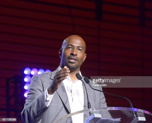 Van Jones onstage at the 2014 Essence Music Festival on July 4 2014 in New Orleans Louisiana