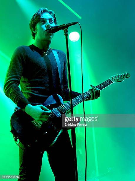 Van McCann of Catfish and the Bottlemen performs at Victoria Warehouse on November 10 2016 in Manchester England