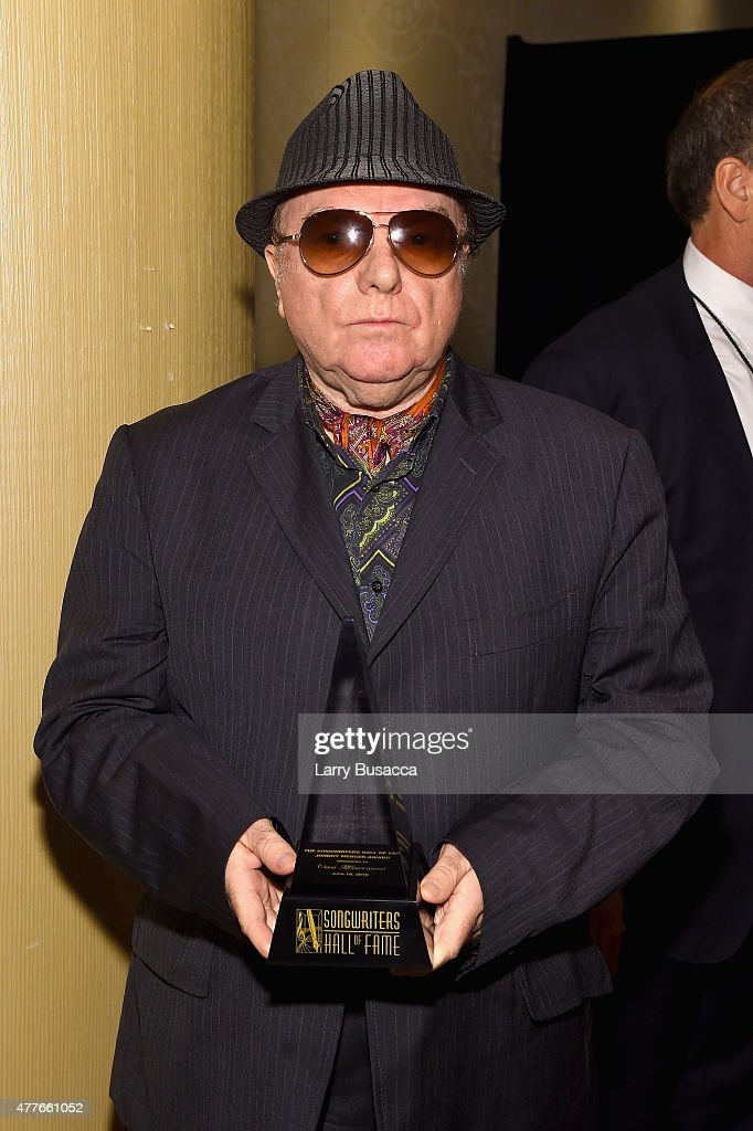 Van Morrison attends Songwriters Hall Of Fame 46th Annual Induction And Awards at Marriott Marquis Hotel on June 18 2015 in New York City
