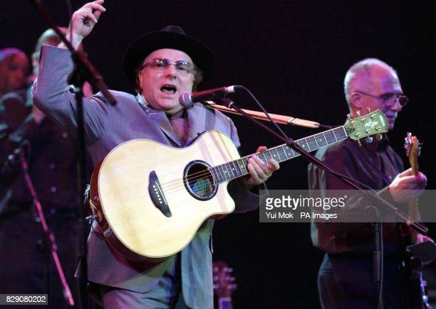 Van Morrison during the Lonnie Donegan tribute concert at the Royal Albert Hall in central London Some of the biggest names in rock took part in a...