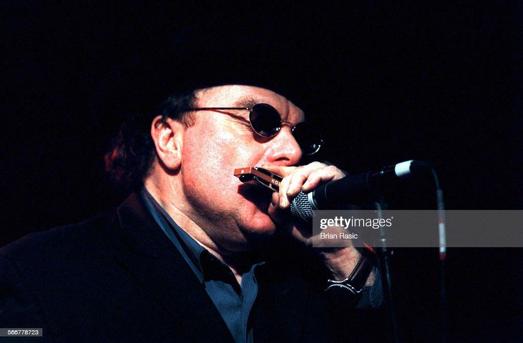 Van Morrison Performing At Ronnie Scotts In London, Britain - 1999, Van Morrison