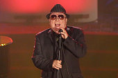 Van Morrison performs during the Songwriters Hall Of Fame 46th Annual Induction And Awards at Marriott Marquis Hotel on June 18 2015 in New York City