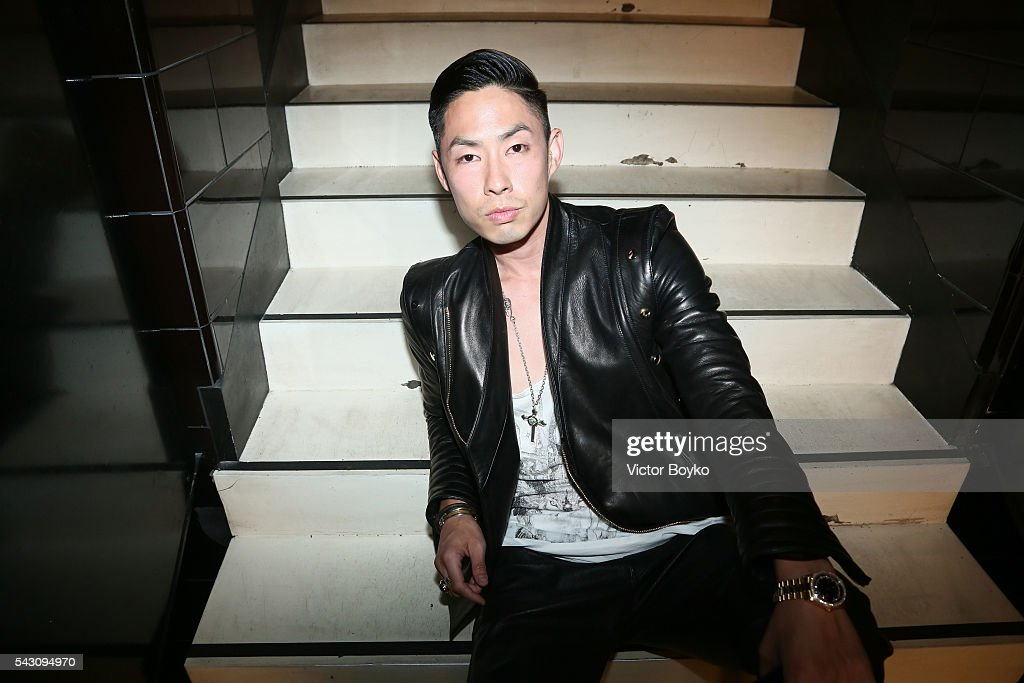 Van Ness Wu attends the Balmain Menswear Spring/Summer 2017 after party as part of Paris Fashion Week at Les Bains on June 25, 2016 in Paris, France.