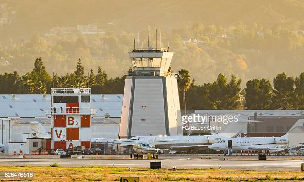 Van Nuys Airport on December 03 2016 in Van Nuys California