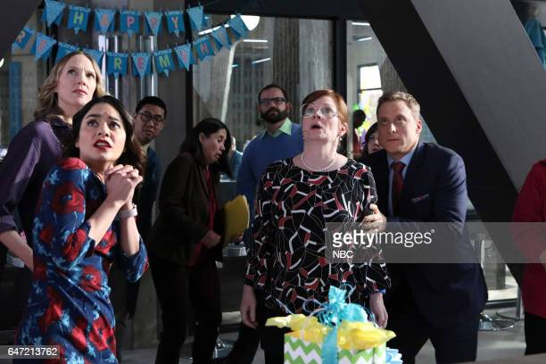POWERLESS 'Van Of The Year' Episode 104 Pictured Vanessa Hudgens as Emily Christina Kirk as Jackie Meagen Fay as Alma Alan Tudyk as Van