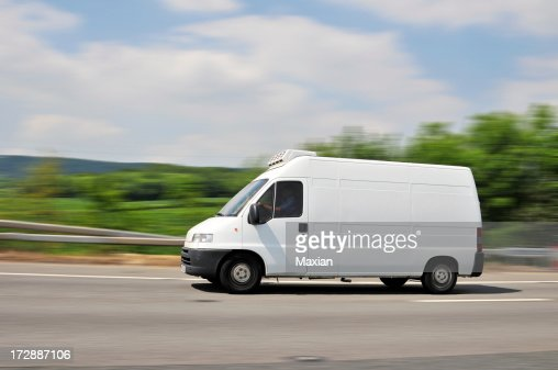 Van on the Move