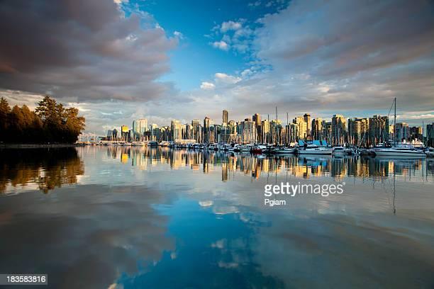 Stadtbild von Vancouver, BC
