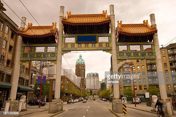 Vancouvers Chinatown und Millennium Gate