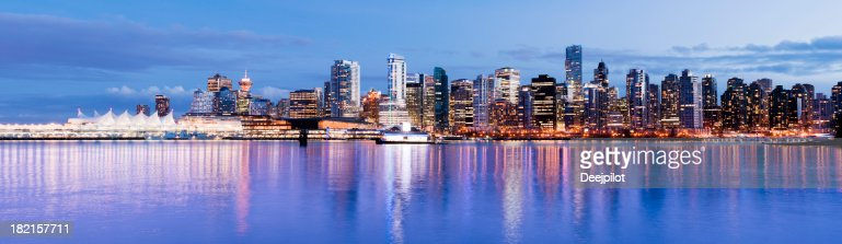Vancouver City Skyline in Canada