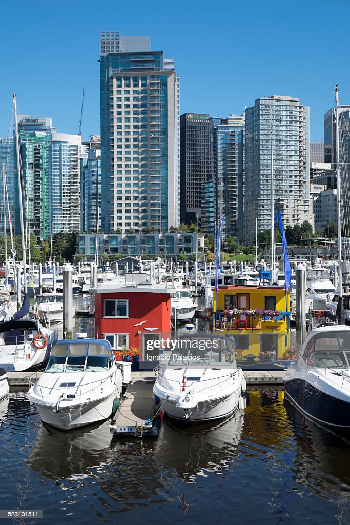 Vancouver False Creek Marina