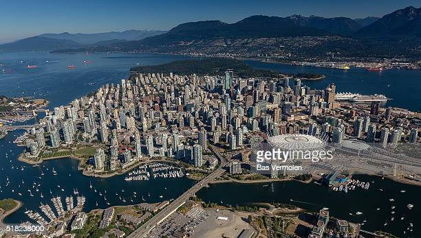 Vancouver from air