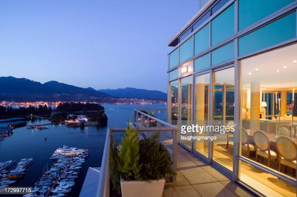 vancouver penthouse apartment stanley park coal harbor