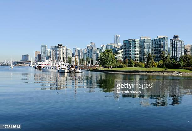 Vancouver Skyline and Coal Harbour