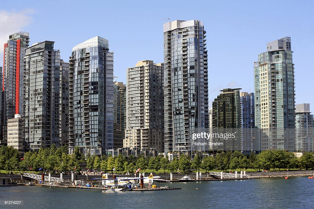 Vancouver Skyline and Coal Harbour-Vancouver, BC