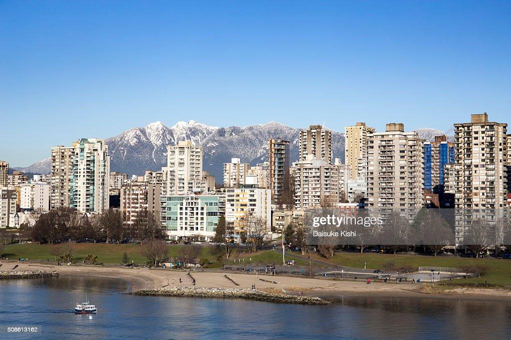 Vancouver Skyline : Stock Photo