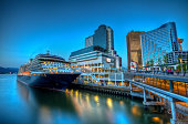 Vancouver Waterfront Blue Hour