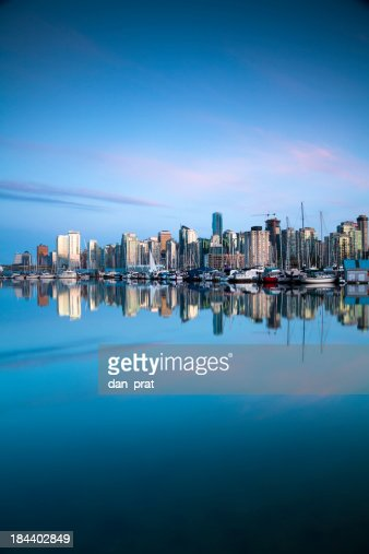 Vancouver Waterfront Skyline