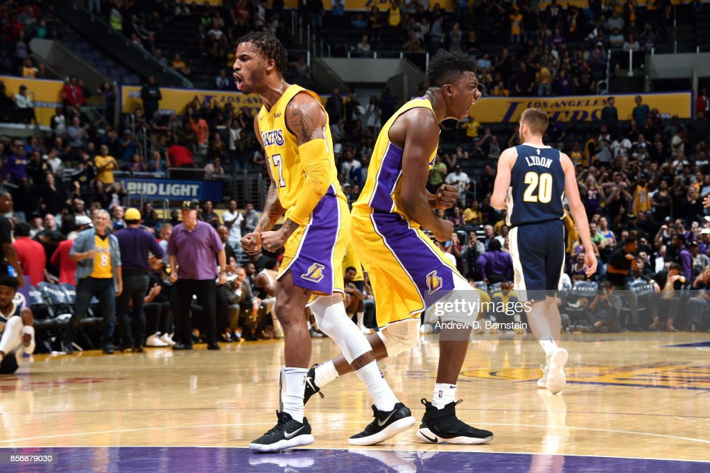 Denver Nuggets v Los Angeles Lakers
