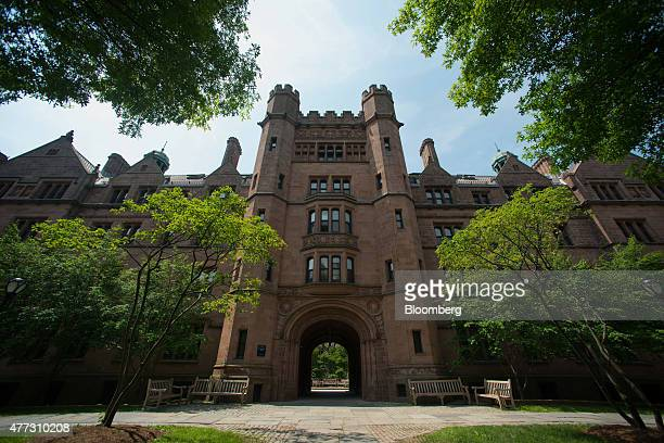 Vanderbilt Hall stands on the Yale University campus in New Haven Connecticut US on Friday June 12 2015 Yale University is an educational institute...