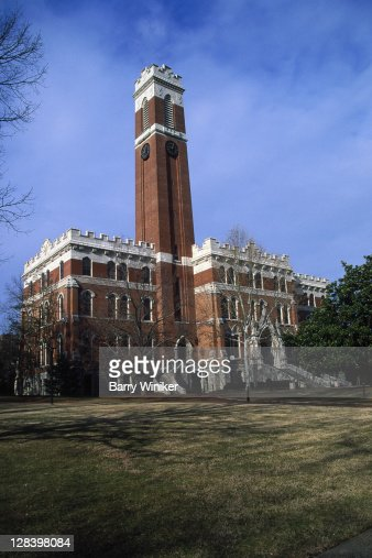 Vanderbilt University, Kirkland Hall : Stock Photo