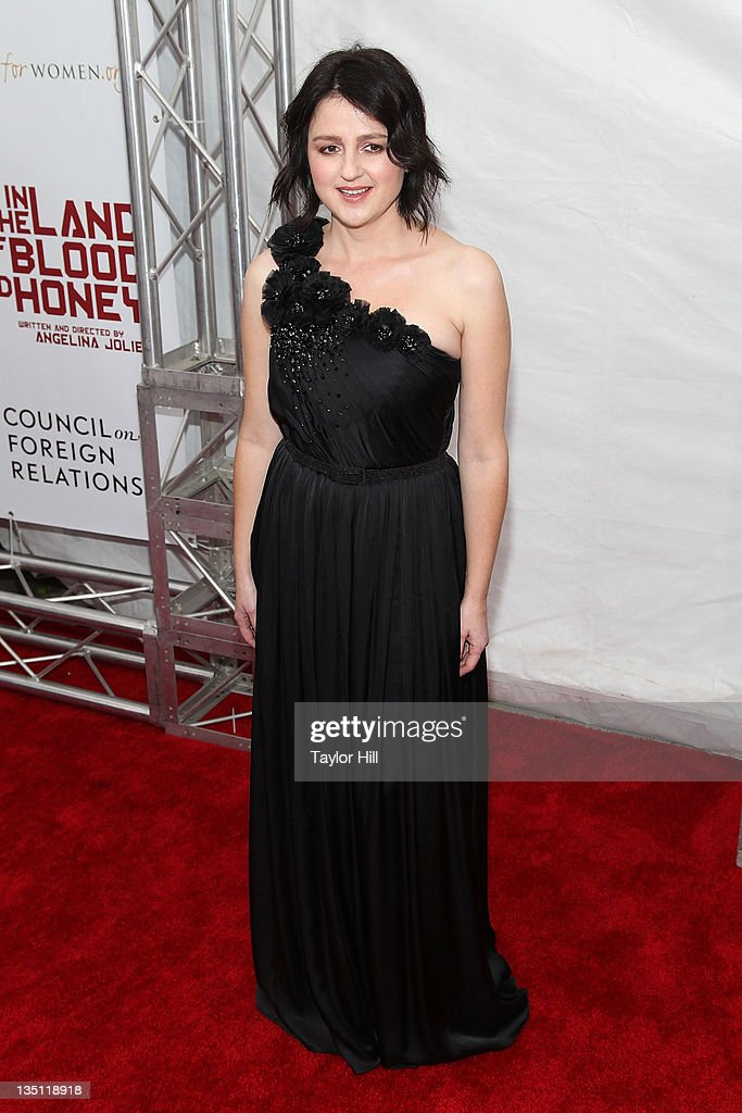 Vanesa Glodjo attends the premiere of 'In the Land of Blood and Honey' at the School of Visual Arts on December 5, 2011 in New York City.