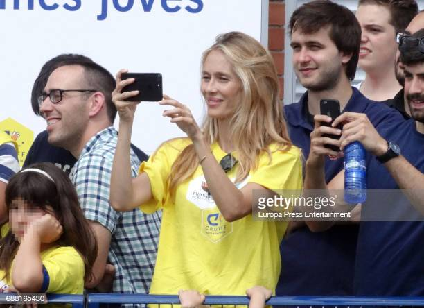 Vanesa Lorenzo attends the opening of the Cruyff Court Gerard Pique on May 24 2017 in Sant Guim de Freixenet Spain