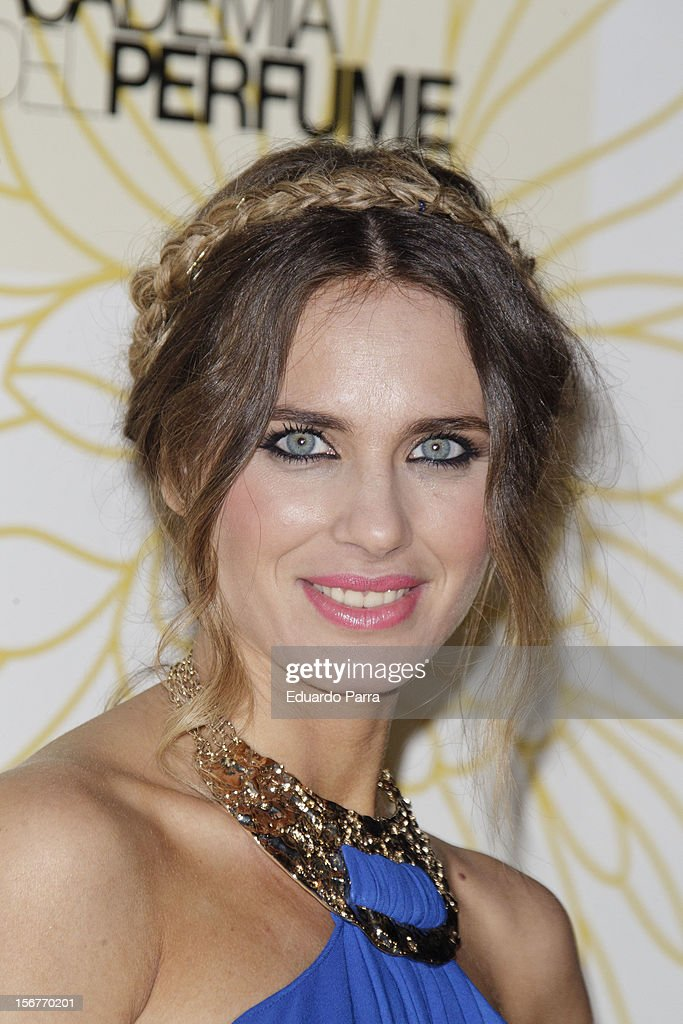 Vanesa Romero attends Academia del perfume awards photocall at Casa de America on November 20, 2012 in Madrid, Spain.