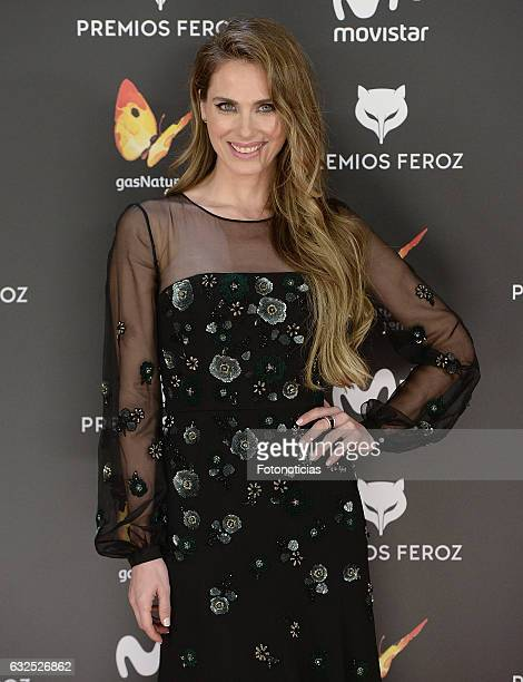 Vanesa Romero attends the 2016 Feroz Awards ceremony at the Palacete de los Duques de Pastrana on January 23 2017 in Madrid Spain