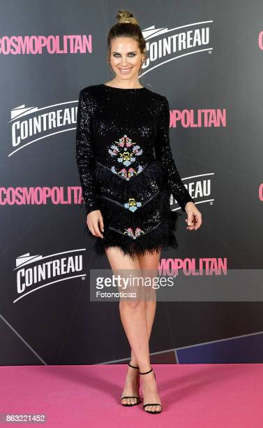 Vanesa Romero attends the 2017 Cosmpolitan Awards at the Graf club on October 19 2017 in Madrid Spain