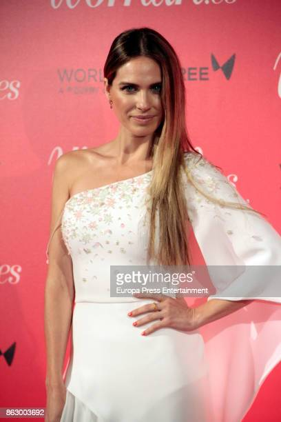Vanesa Romero attends the 'Woman 25th anniversary' photocall at Madrid Casino on October 18 2017 in Madrid Spain