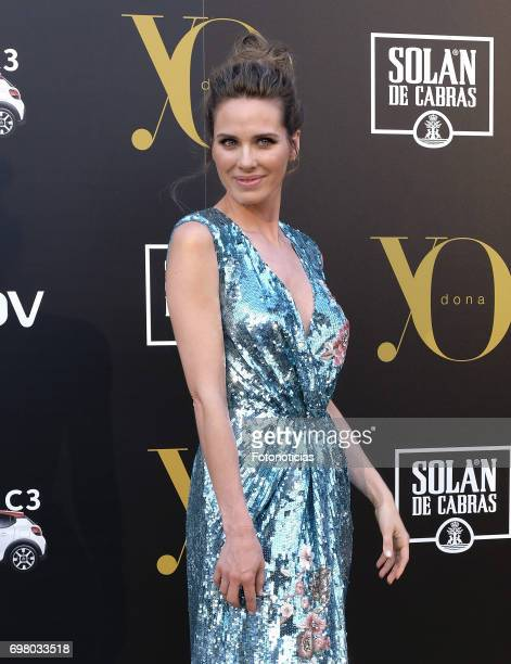 Vanesa Romero attends the 'Yo Dona' International Awards at the Palacio de los Duques de Pastrana on June 19 2017 in Madrid Spain