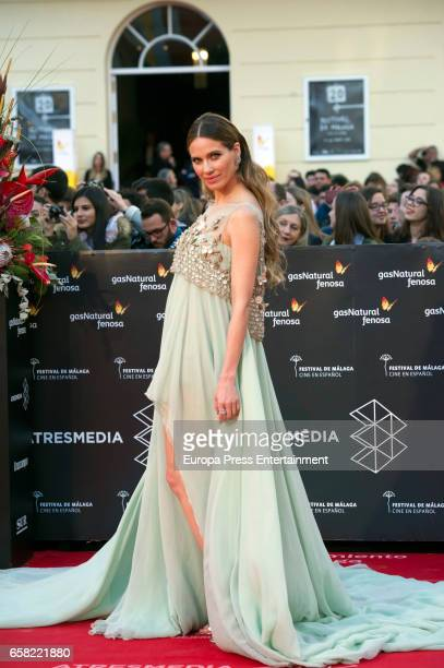 Vanesa Romero during the 20th Malaga Film Festival at the Cervantes Teather on March 25 2017 in Malaga Spain