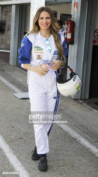 Vanesa Romero during the '24 Horas Ford' event at Jarama cicuit on June 30 2017 in Madrid Spain