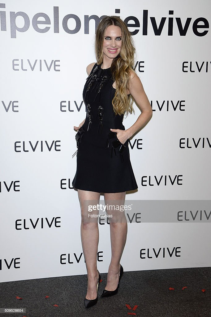 Vanesa Romero is presented as a new Elvive Ambassador at the ME Reina Victoria Hotel on February 11, 2016 in Madrid, Spain.