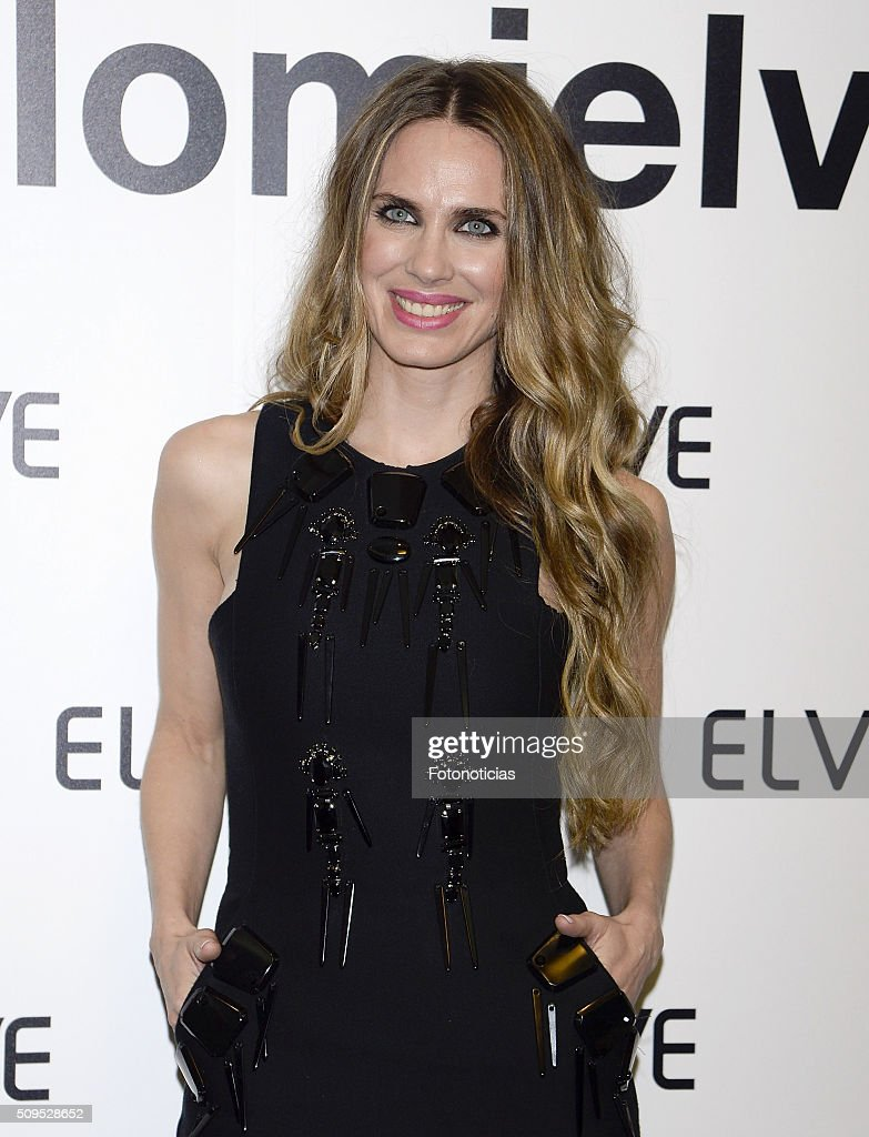 Vanesa Romero is presented as the new Elvive Ambassador at the ME Reina Victoria Hotel on February 11, 2016 in Madrid, Spain.