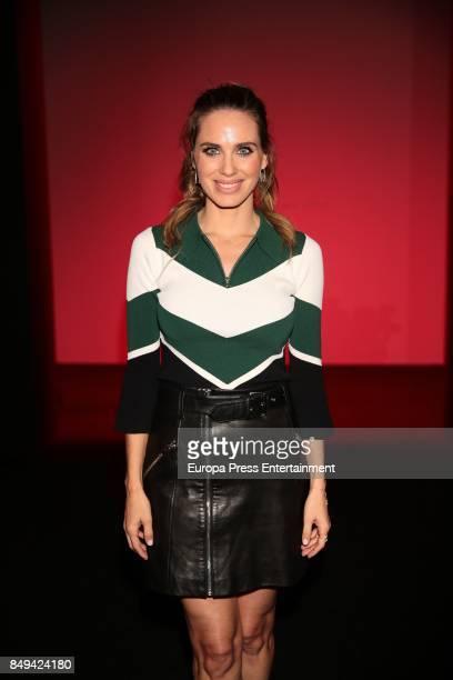 Vanesa Romero is seen during MercedesBenz Fashion Week Madrid Spring/Summer 2018 at Ifema on September 15 2017 in Madrid Spain
