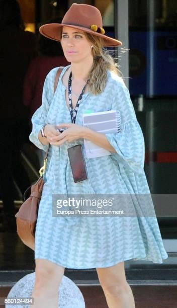 Vanesa Romero is seen on October 9 2017 in Madrid Spain